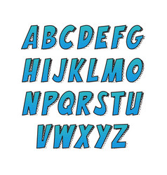 creative font alphabet collection set in the vector image