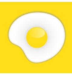 Egg icon EPS10 vector image vector image