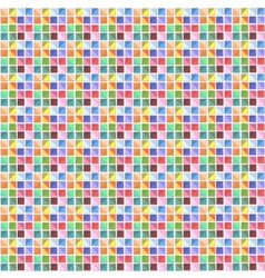 Multi-colored mosaic vector image