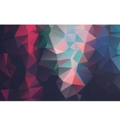Abstract 2d triangle background vector