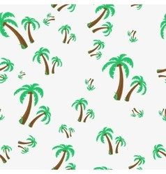 Seamless - palm tree vector