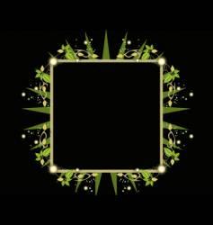 leaf design vector image vector image