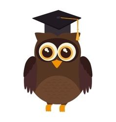 Owl graduate academic vector