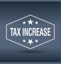 Tax increase vector