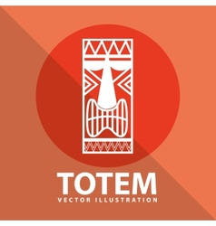 Totem icon vector