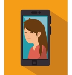 Photography selfie style isolated vector