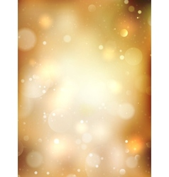 Christmas golden background eps 10 vector