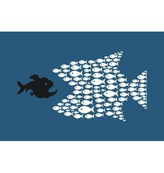 Abstract fish4 vector