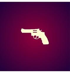 Revolver Icon concept for vector image vector image