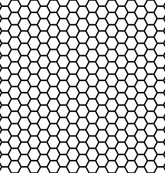 seamless honeycomb vector image