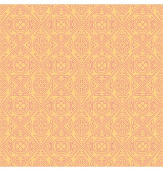 Yellow backgrounds with seamless patterns vector image