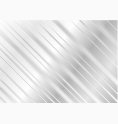 Grey geometric technology stripes background vector