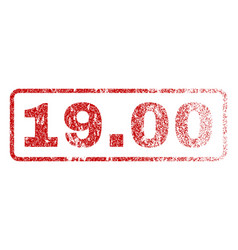1900 rubber stamp vector image vector image