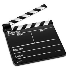 3d film slate vector