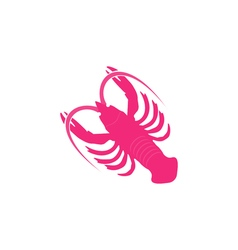 Crayfish icon vector