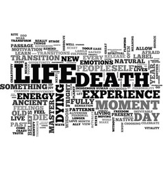It s a great day to die text background word vector