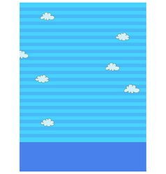Sky Pattern background vector image vector image