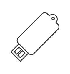 usb gadget device design vector image