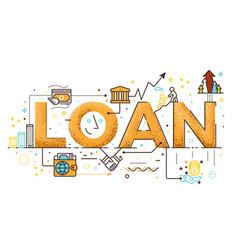 Personal loan vector