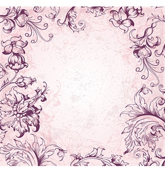 victorian background vector image