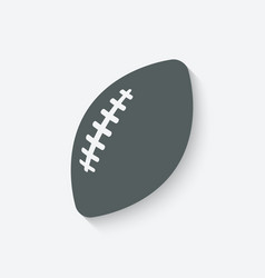 Football sport icon vector