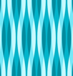 Turquoise blue and white wavy background vector