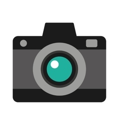 Camera photographic photo icon vector