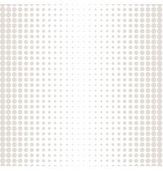 monochrome halftone circles pattern beige white vector image vector image
