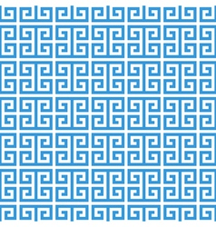 Greek fret meander seamless pattern vector