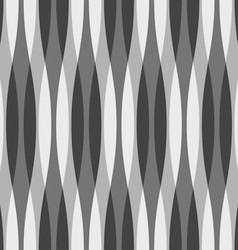 Black white and gray wavy background vector
