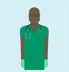 Doctor flat design vector