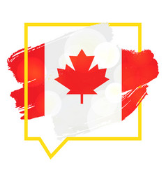happy victoria day sticker vector image