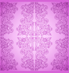 seamless vintage pink pattern vector image