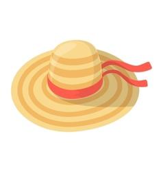 Women girl hat vector image