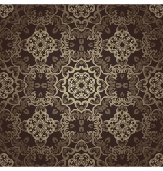 Seamless wallpaper islamic motif background vector