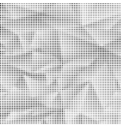Black and white halftone pattern vector