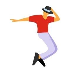 Dance flat symbol vector