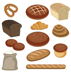 Bakery and pastry products vector