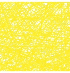 Abstract Yellow Line Background vector image vector image