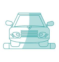 Car shadow vector