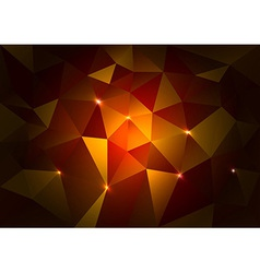 Red Triangles Dark vector image vector image