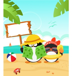 Summer message vector