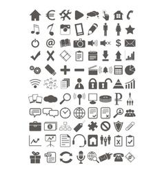 Webdesign flat icons set vector