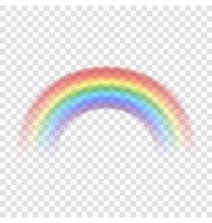 Rainbow icon realistic 1 vector