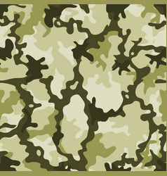 seamless military camouflage vector image vector image