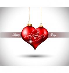 valentines flyer vector image vector image
