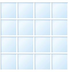 blue tile vector image