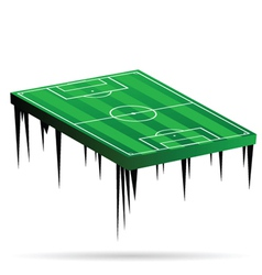 Football field green vector