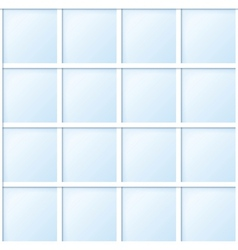 blue tile vector image vector image