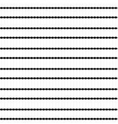 Dots black white seamless pattern background vector